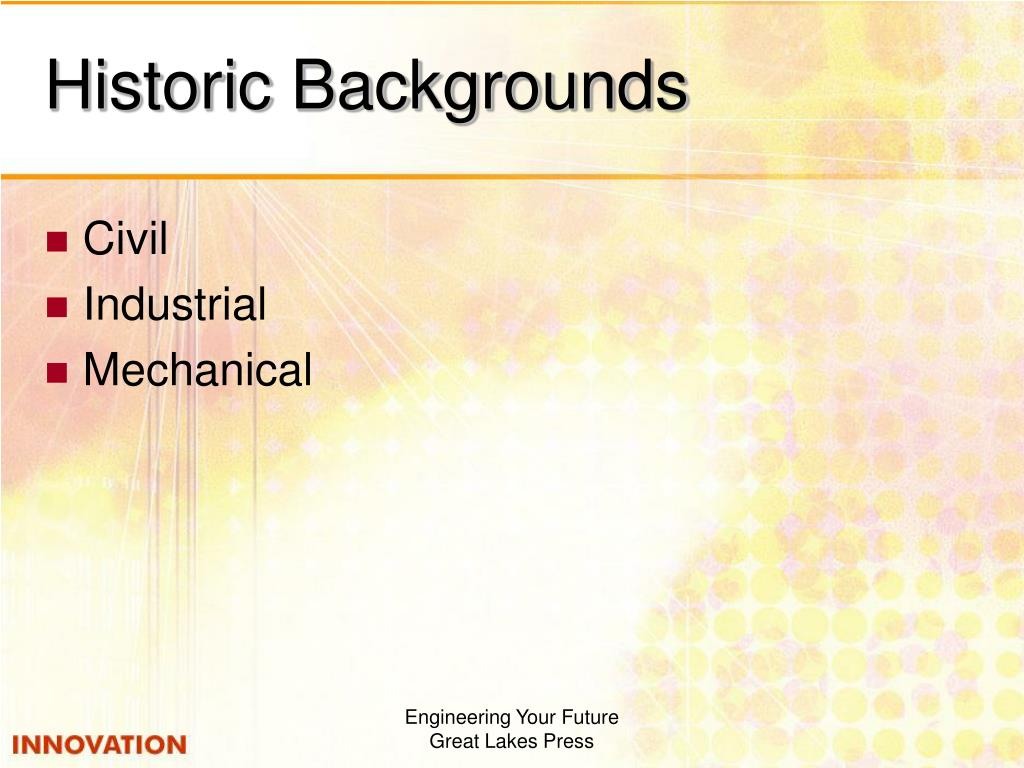 Historic Backgrounds