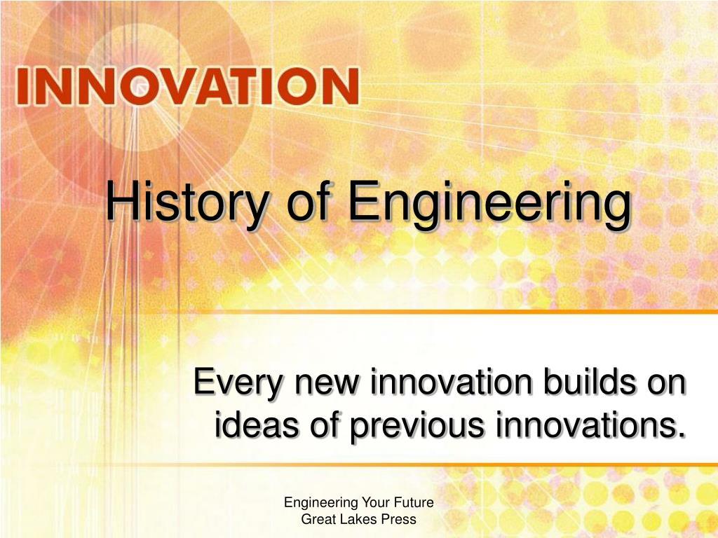 History of Engineering