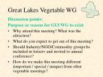 great lakes vegetable wg9
