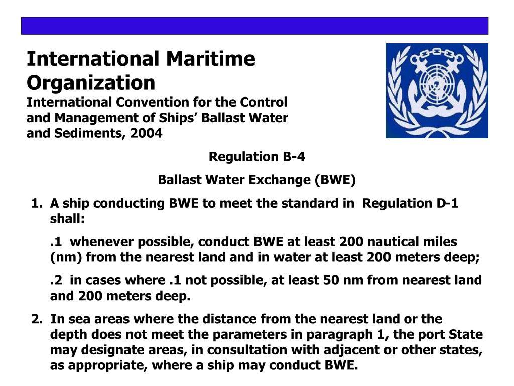 International Maritime
