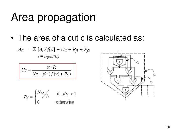 Area propagation