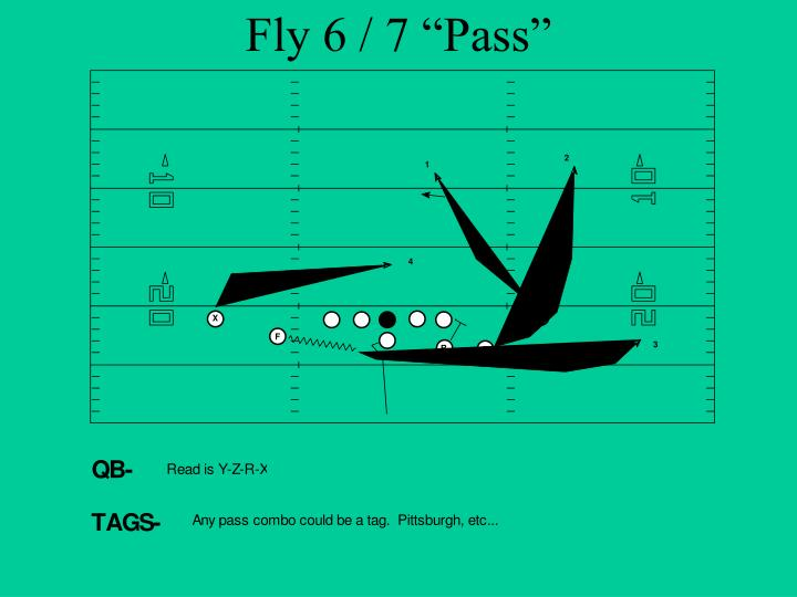"Fly 6 / 7 ""Pass"""