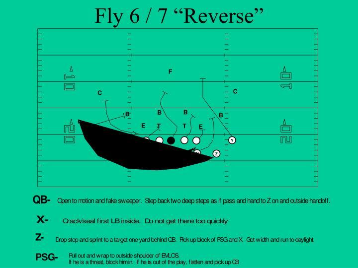 "Fly 6 / 7 ""Reverse"""