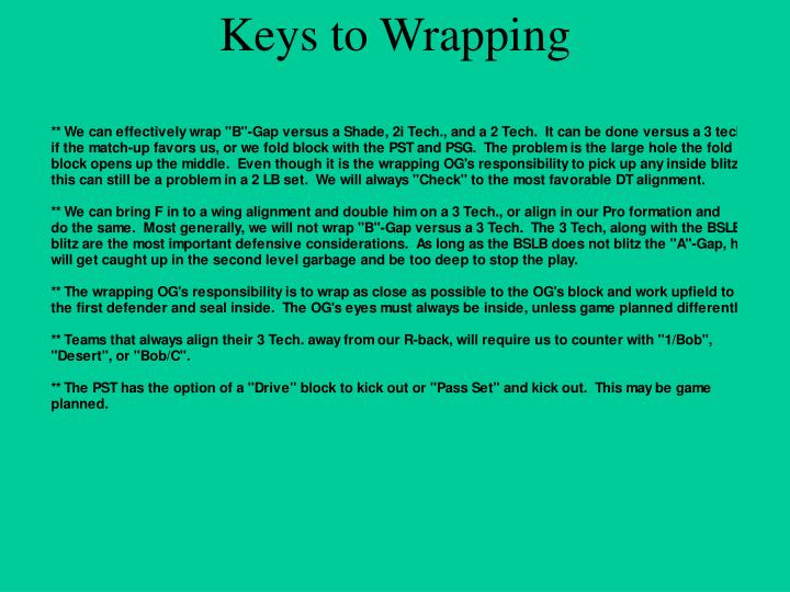 Keys to Wrapping