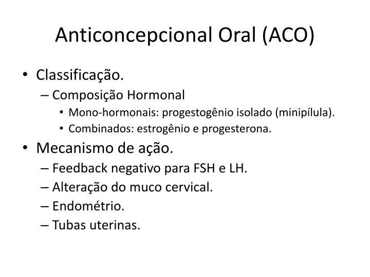 Anticoncepcional oral aco1