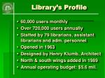 library s profile5