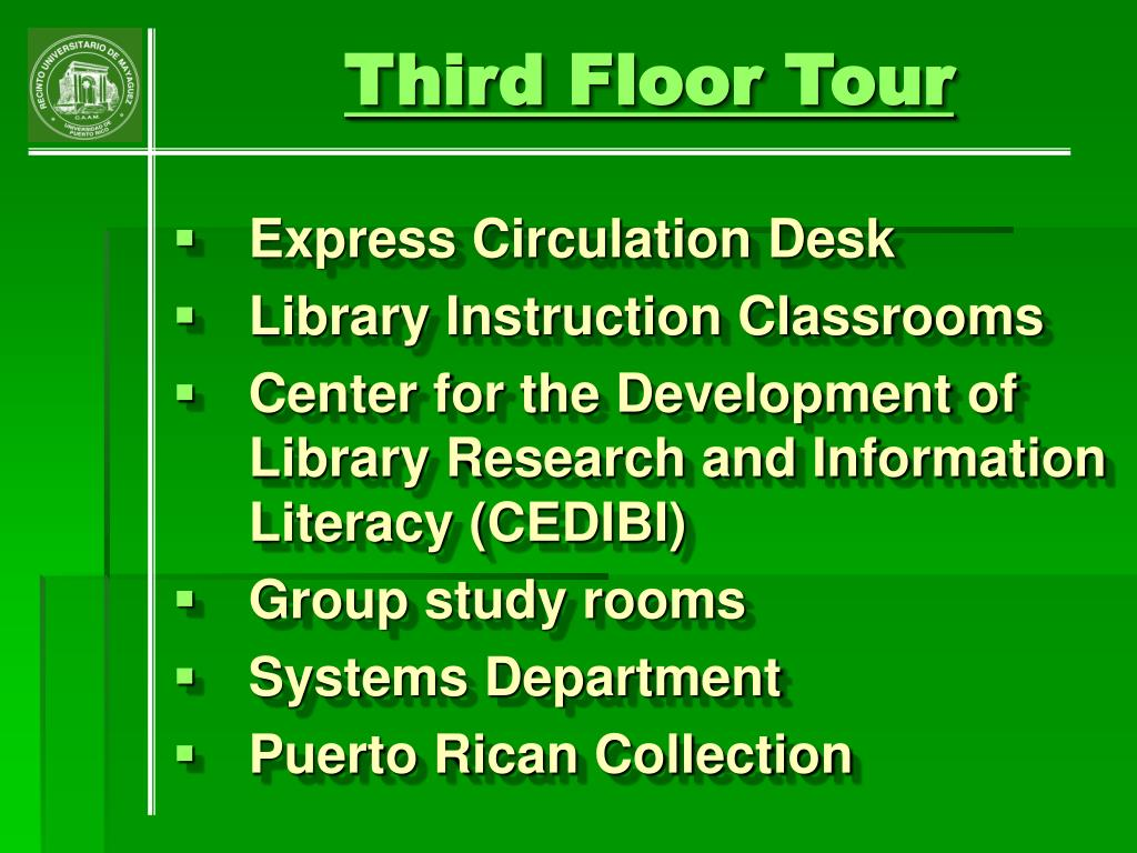 Third Floor Tour