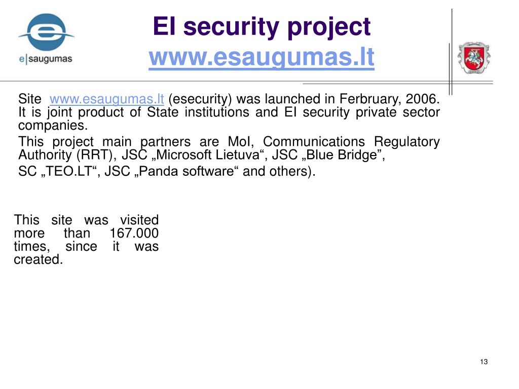 EI security project