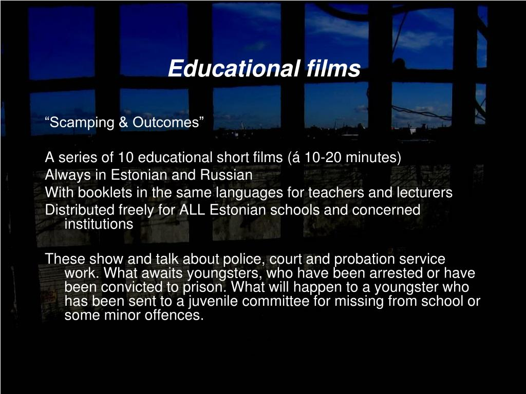 Educational films