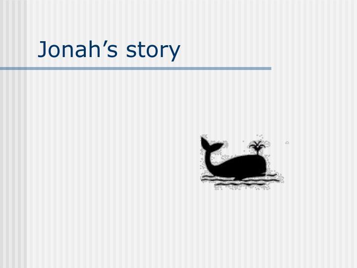 Jonahs story