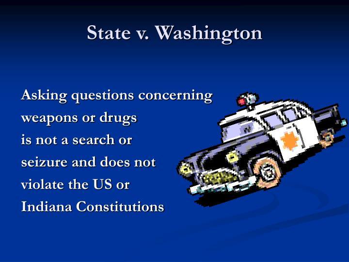State v. Washington