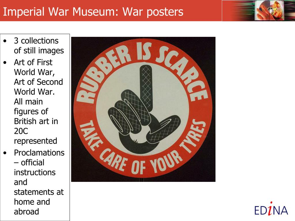Imperial War Museum: War posters
