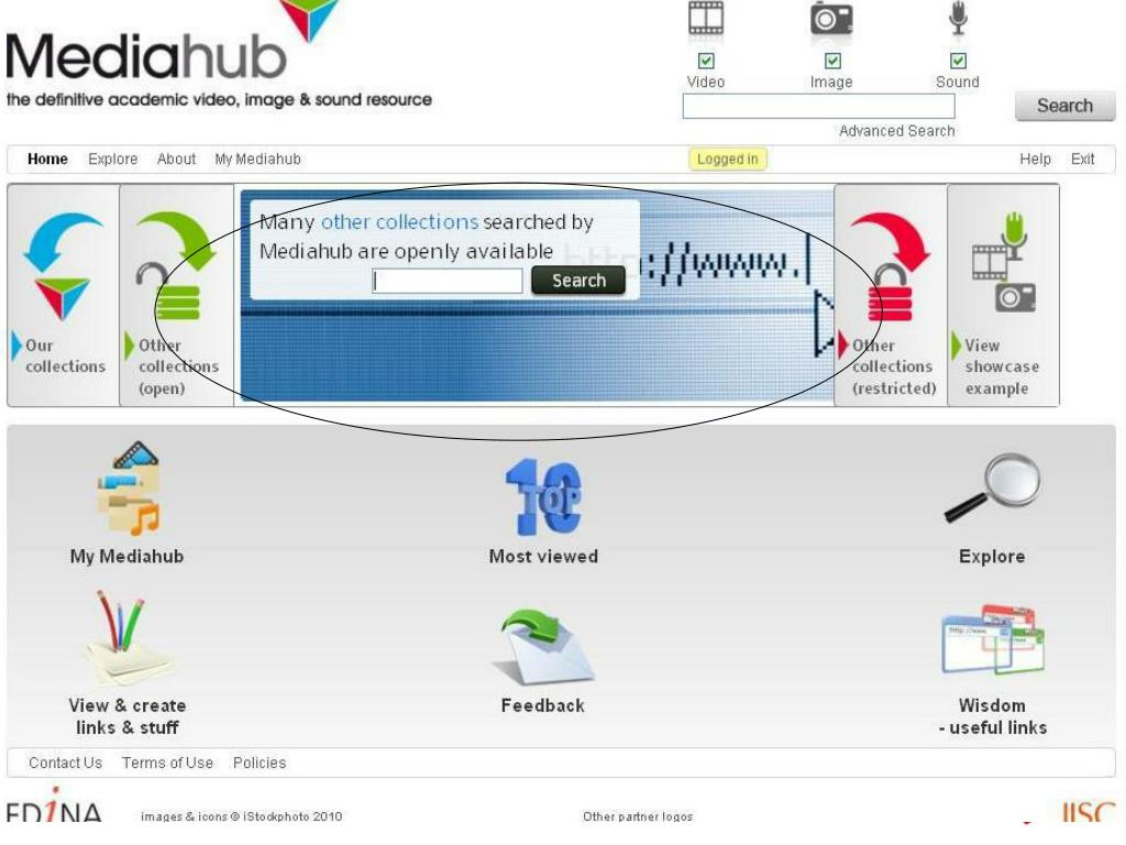 Mediahub – other open collections