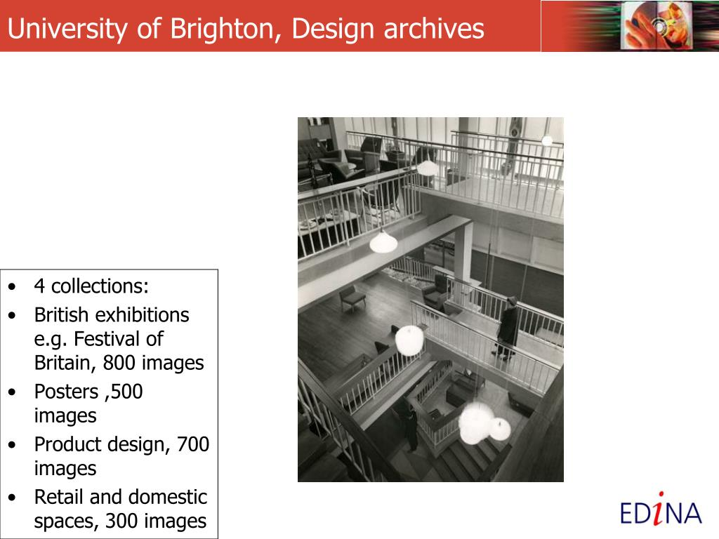 University of Brighton, Design archives