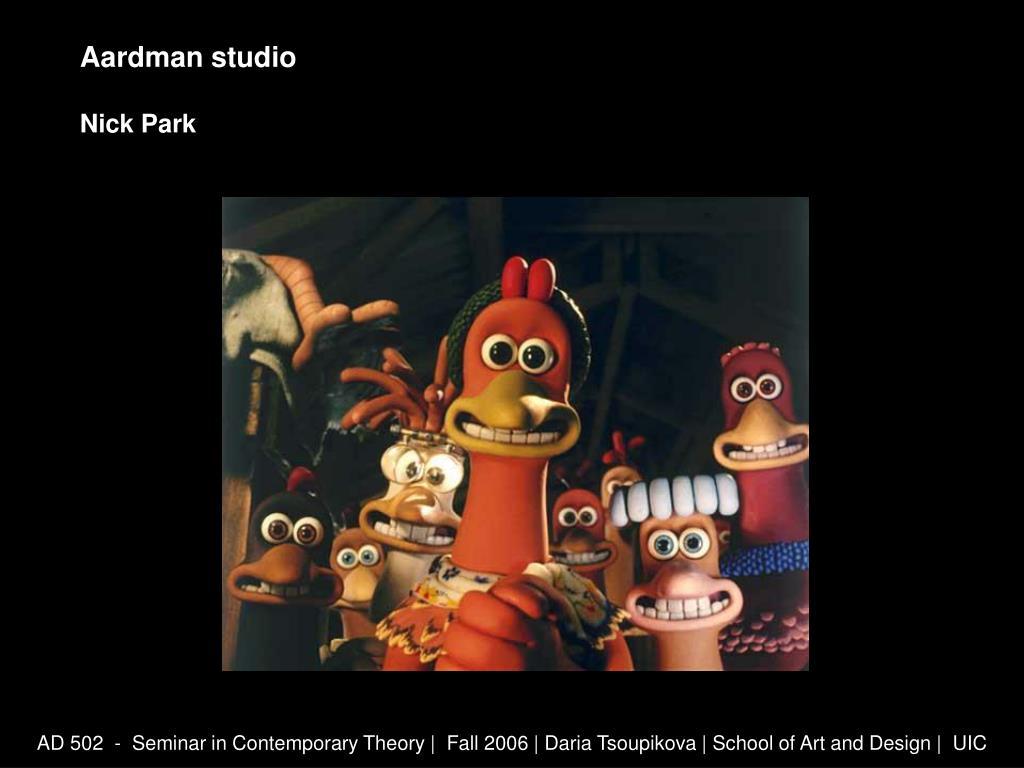 Aardman studio