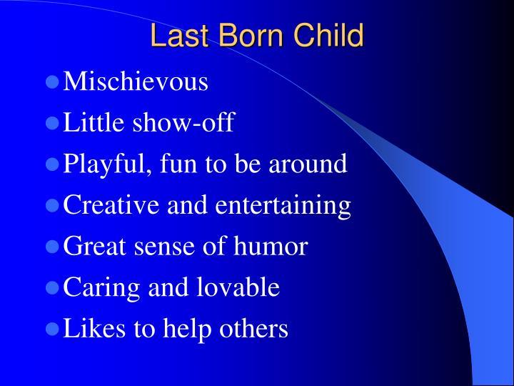 Last Born Child
