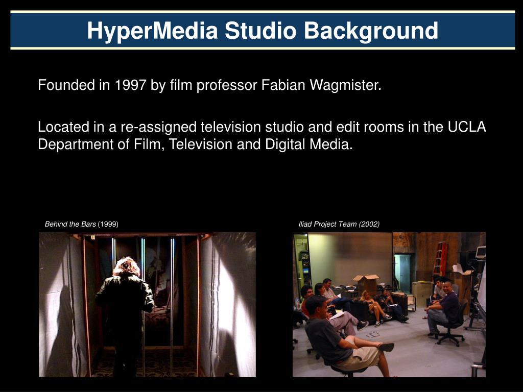 HyperMedia Studio Background