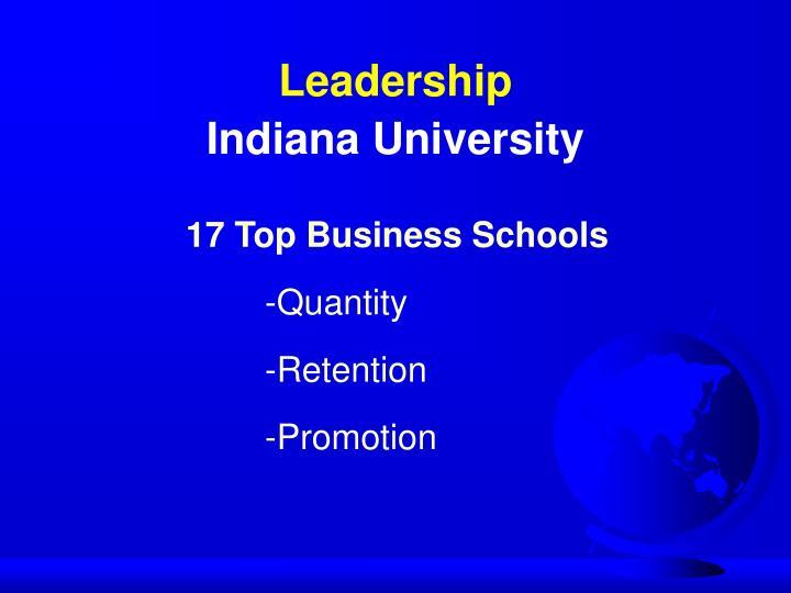 17 Top Business Schools