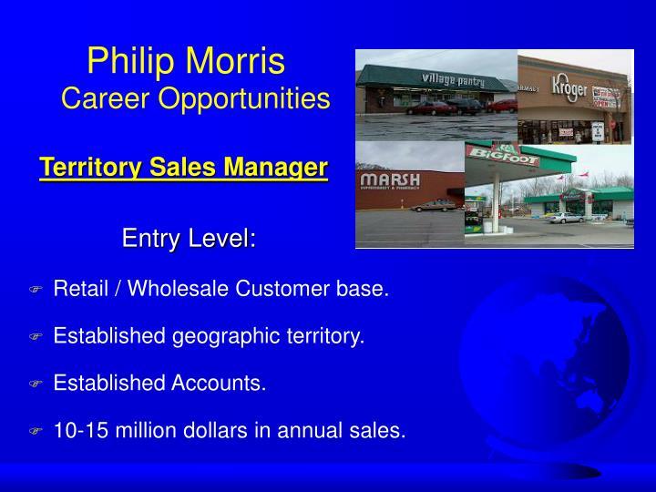 Retail / Wholesale Customer base.