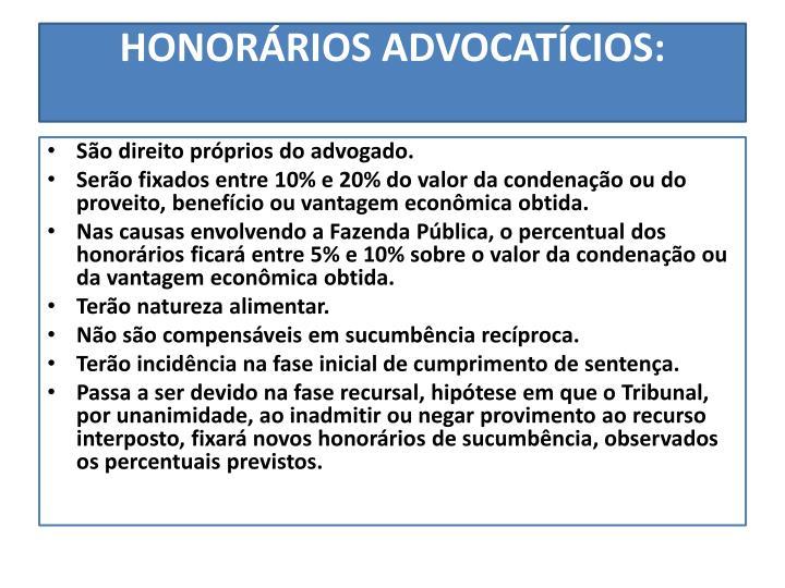 HONORÁRIOS