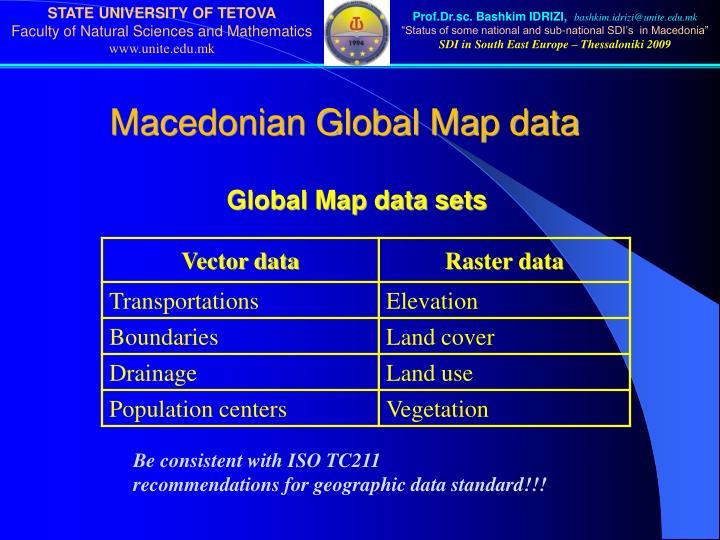 Macedonian Global Map data