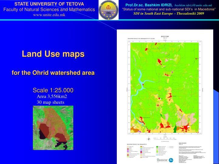 Land Use maps