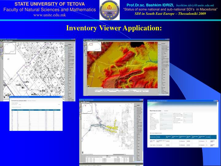 Inventory Viewer Application:
