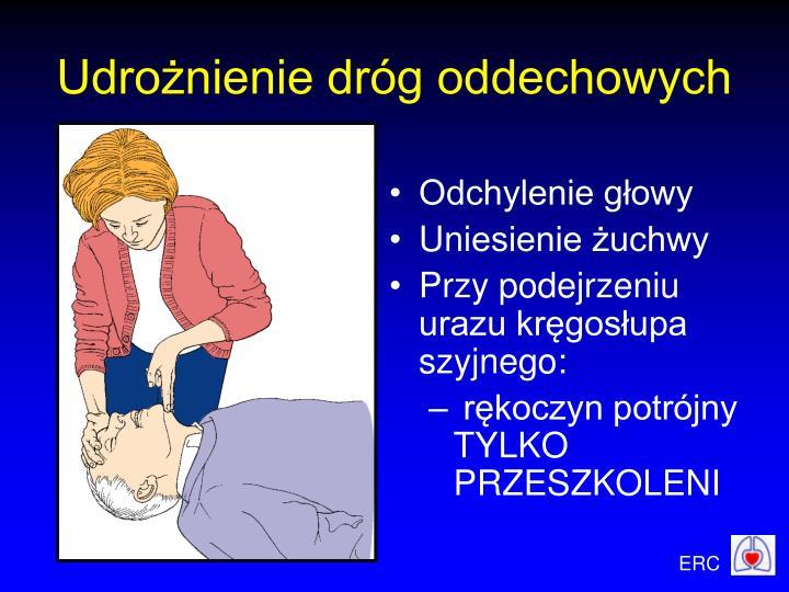 Udrożnienie dróg oddechowych