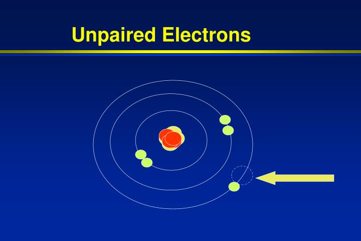 Unpaired Electrons