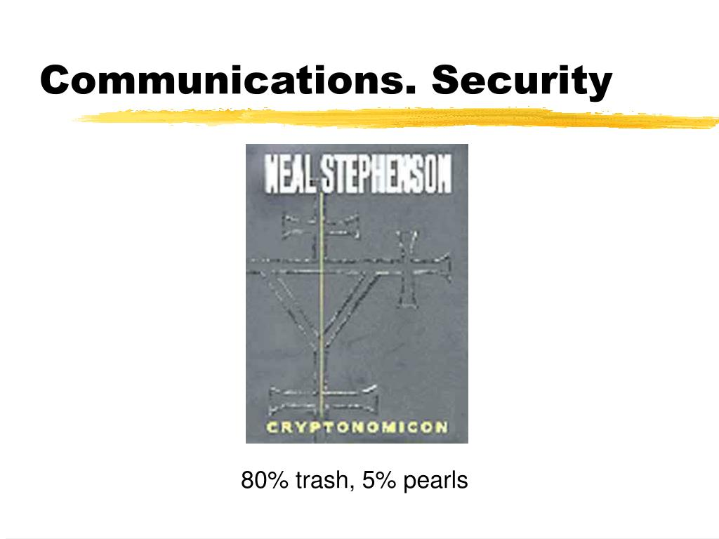 Communications. Security
