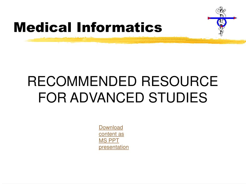 Medical Informatics