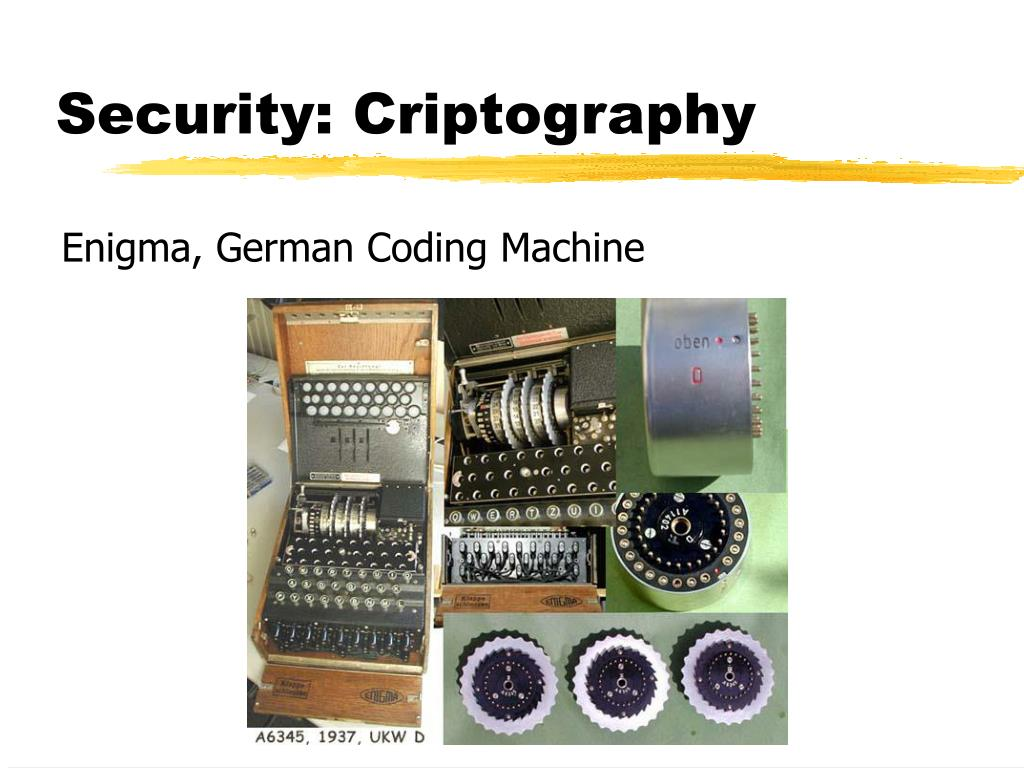 Security: Criptography