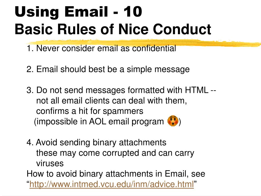 Using Email - 10