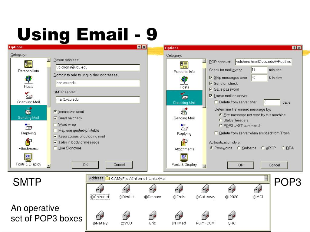 Using Email - 9