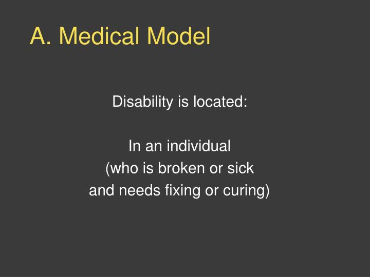 A. Medical Model