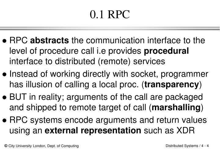 0.1 RPC