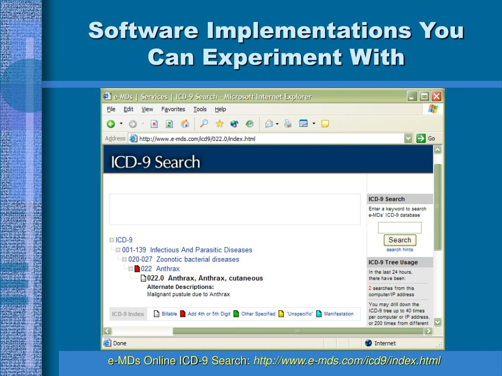 Software Implementations You Can Experiment With