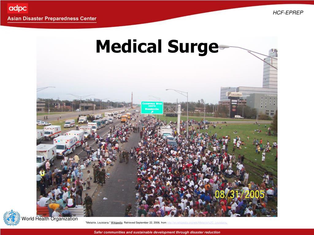 Medical Surge