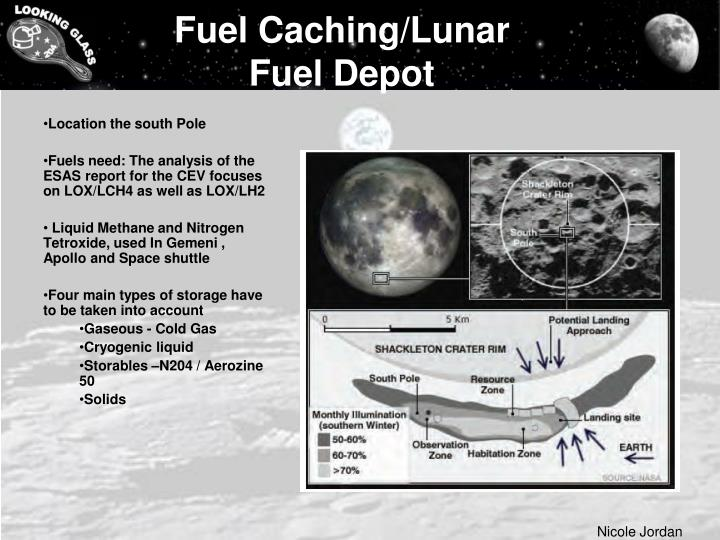 Fuel Caching/Lunar Fuel Depot