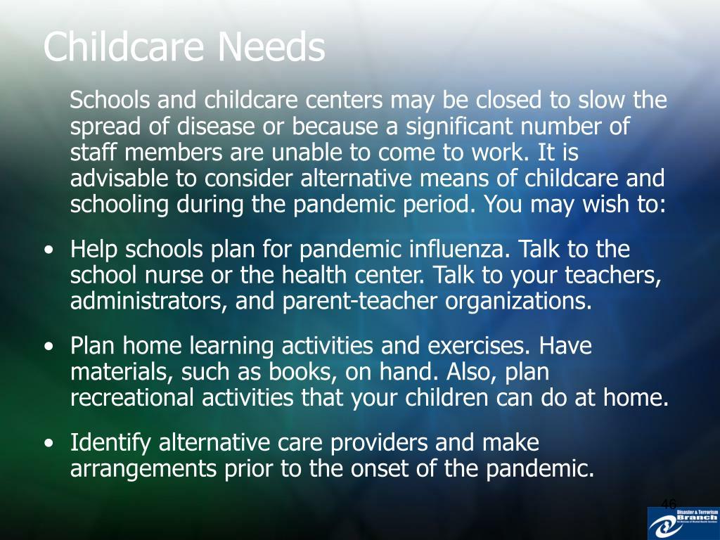 Childcare Needs