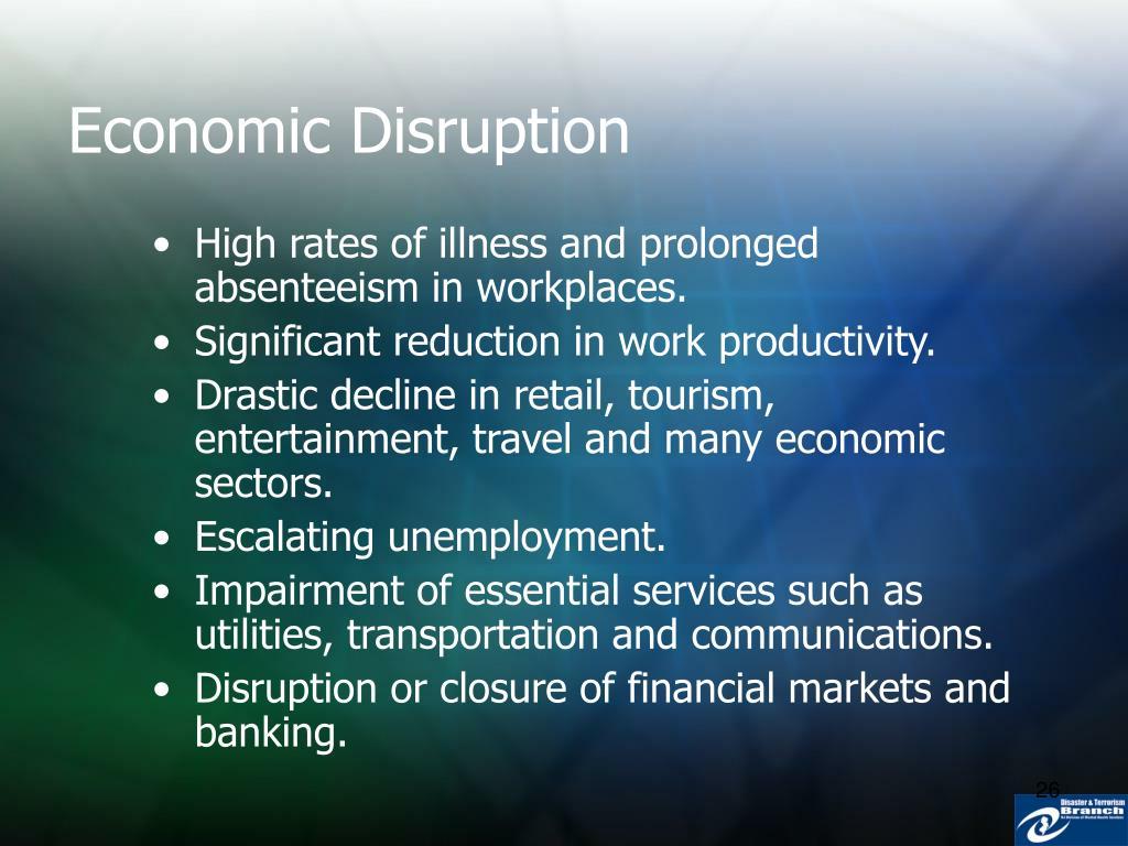 Economic Disruption