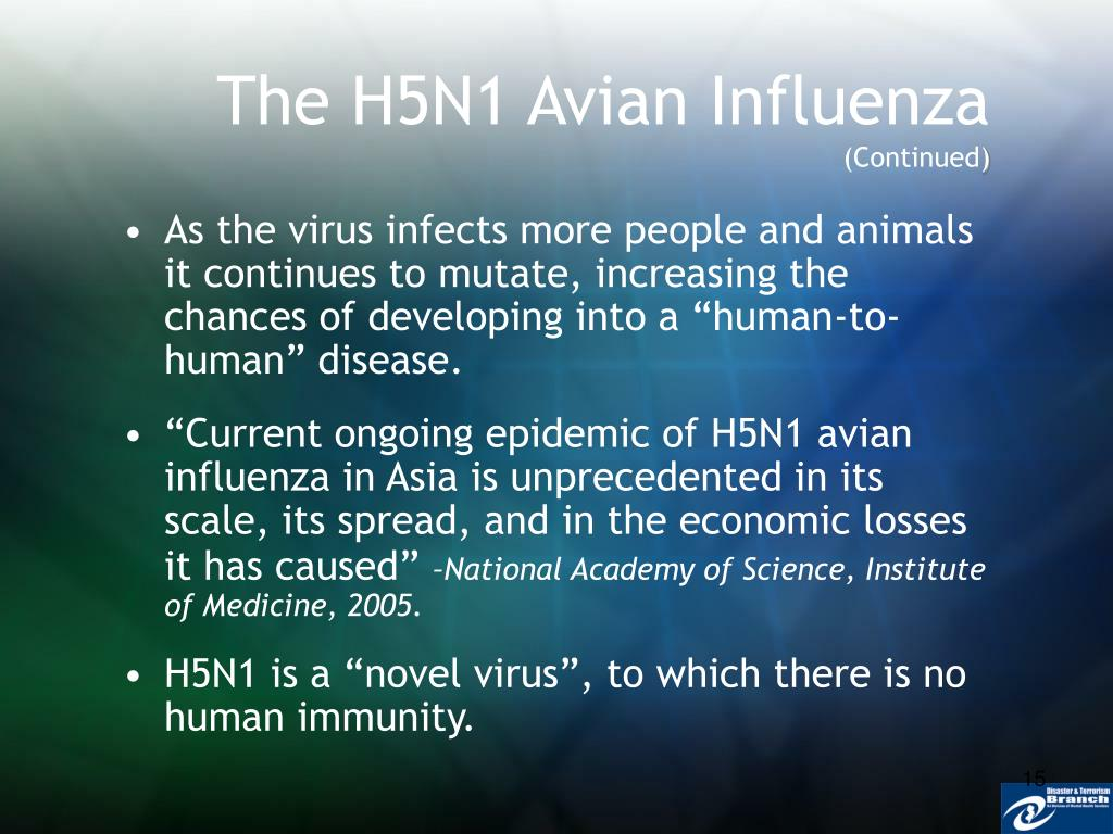The H5N1 Avian Influenza