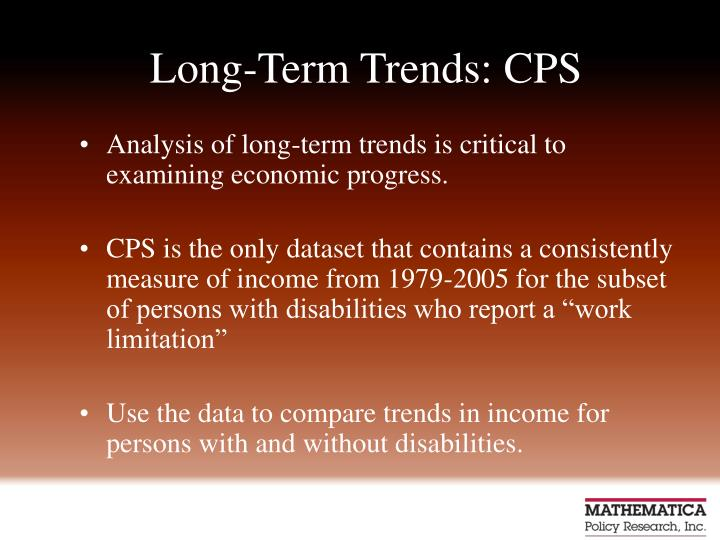 Long-Term Trends: CPS
