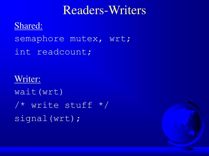 Readers-Writers