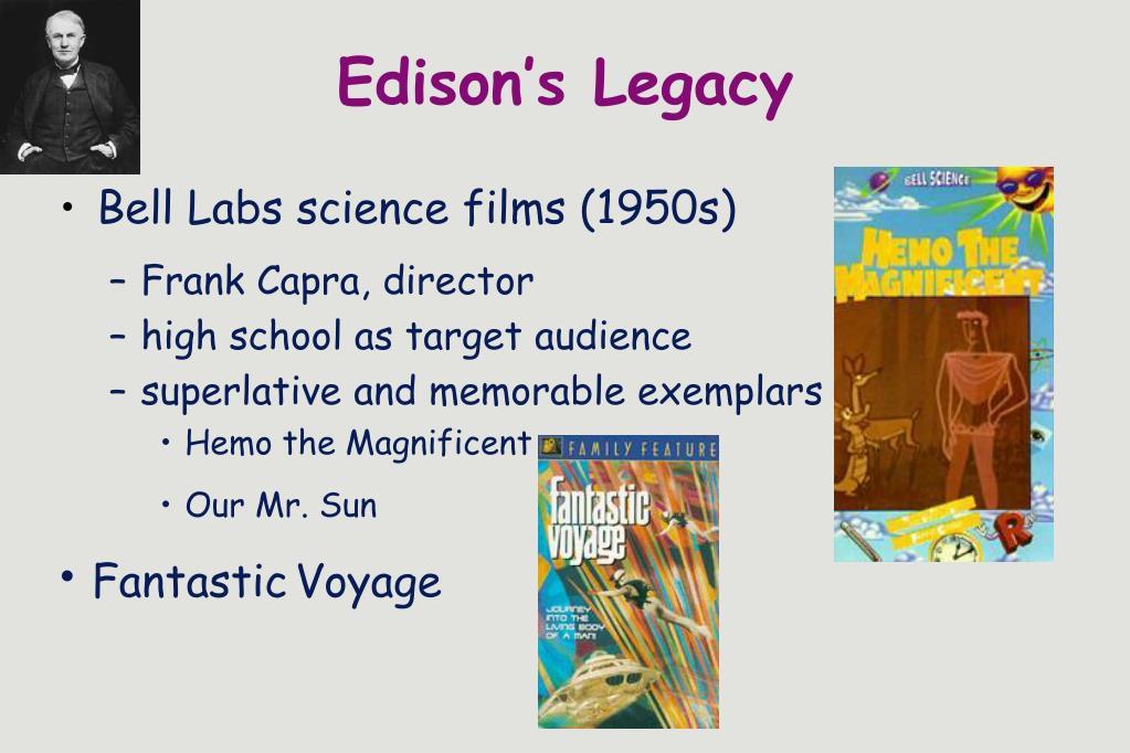 Edison's Legacy
