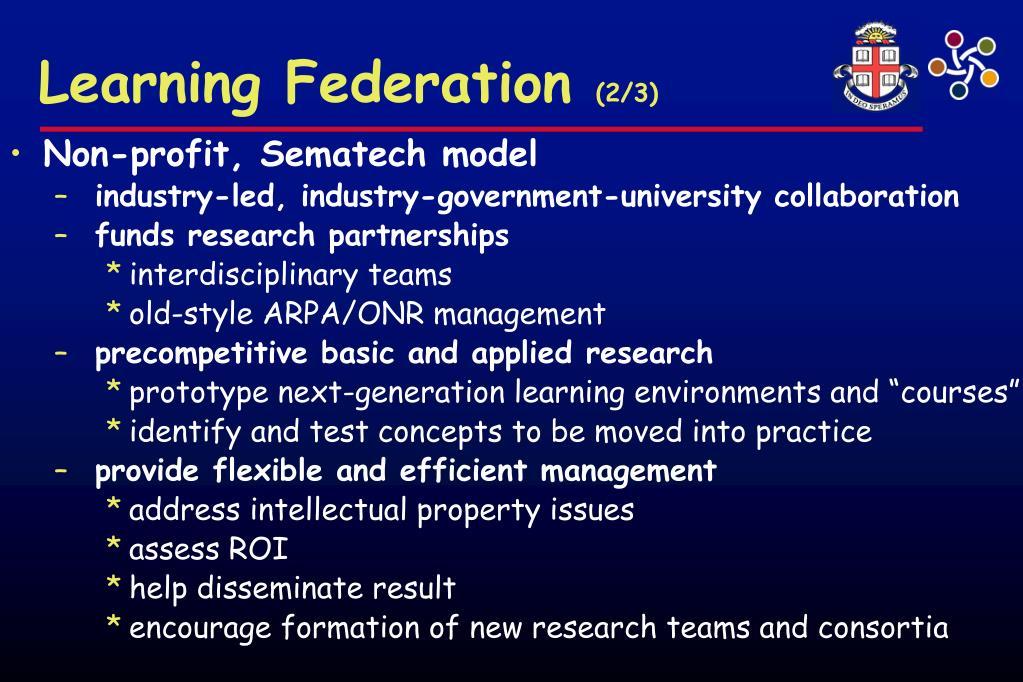 Learning Federation