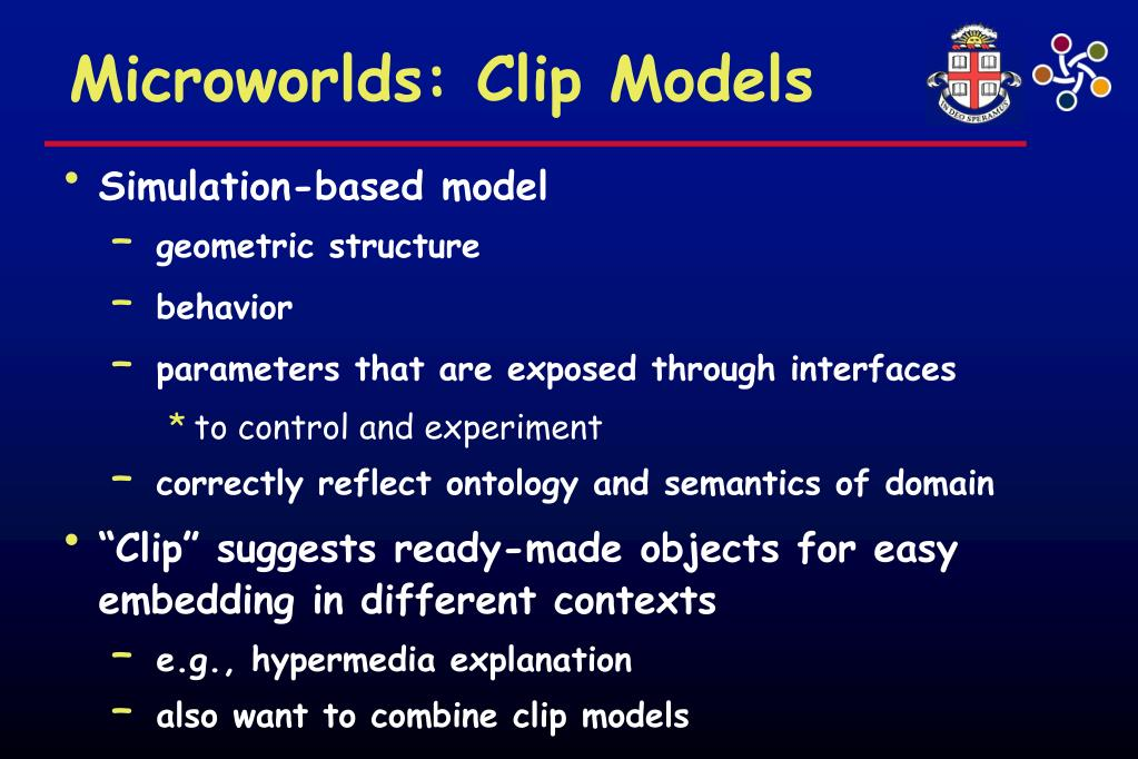 Microworlds: Clip Models