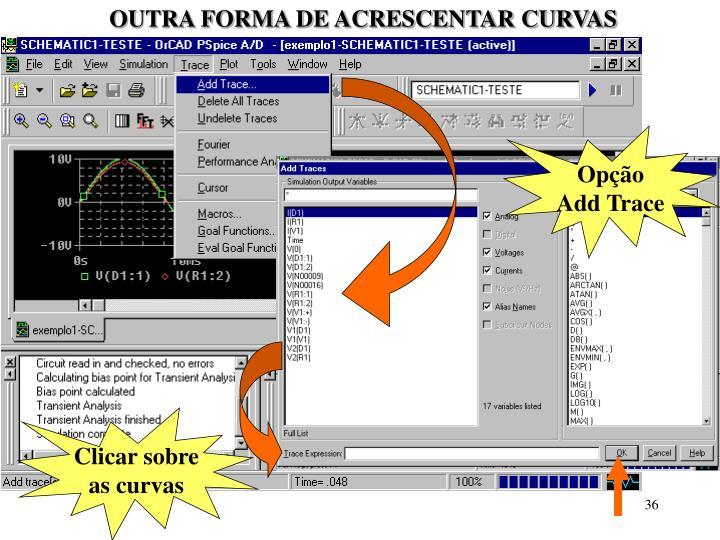 OUTRA FORMA DE ACRESCENTAR CURVAS