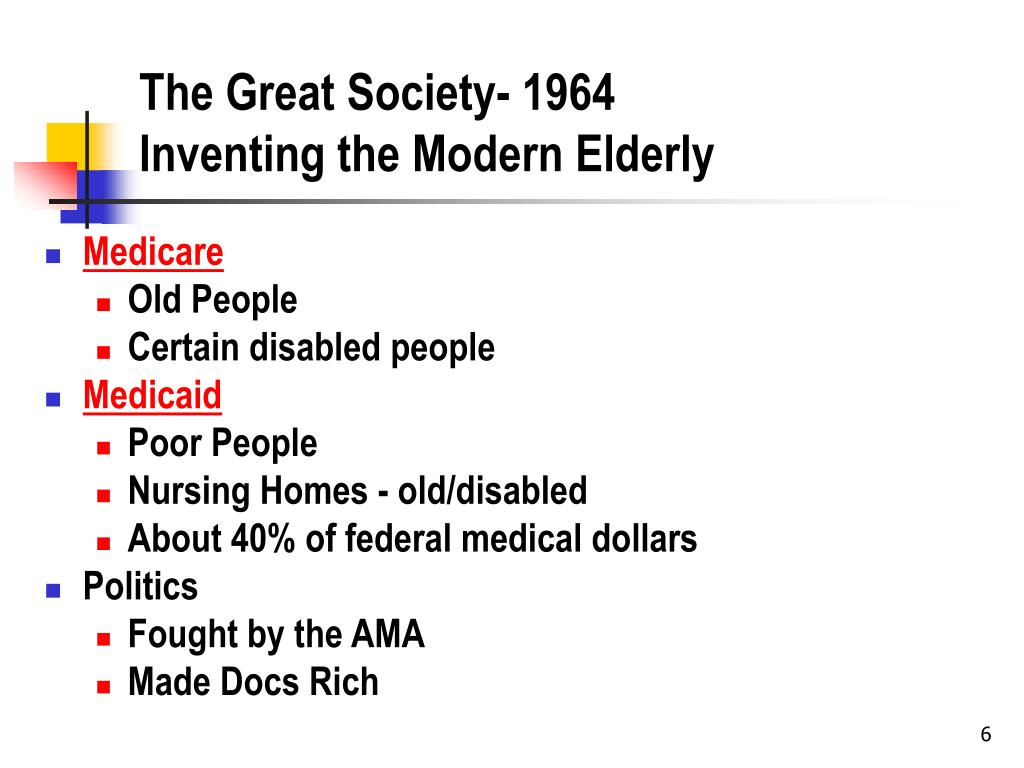 The Great Society- 1964