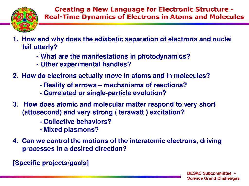 Creating a New Language for Electronic Structure -